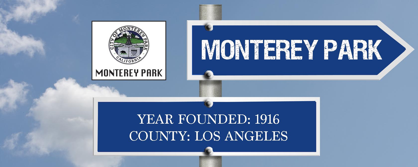 city sign-MONTEREY PARK