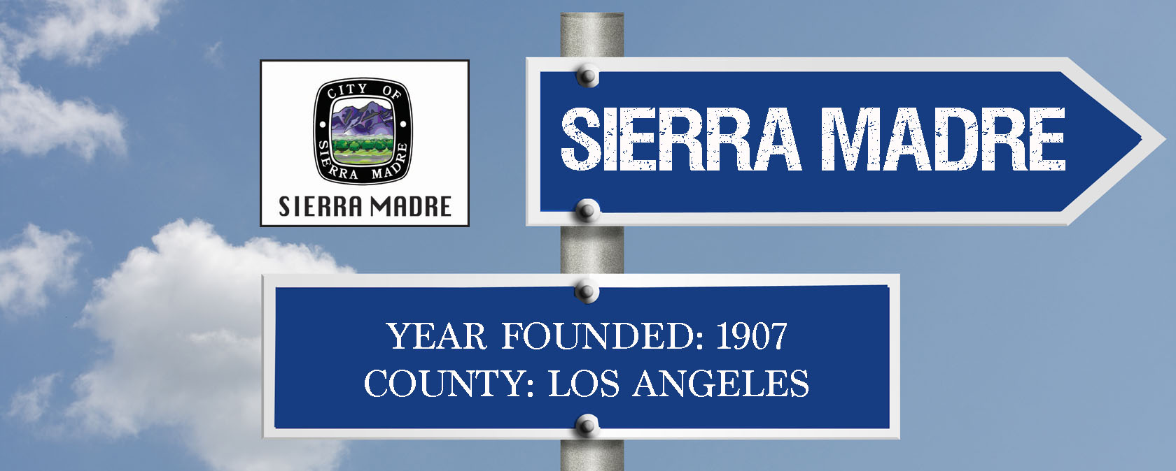 city sign-SIERRA MADRE