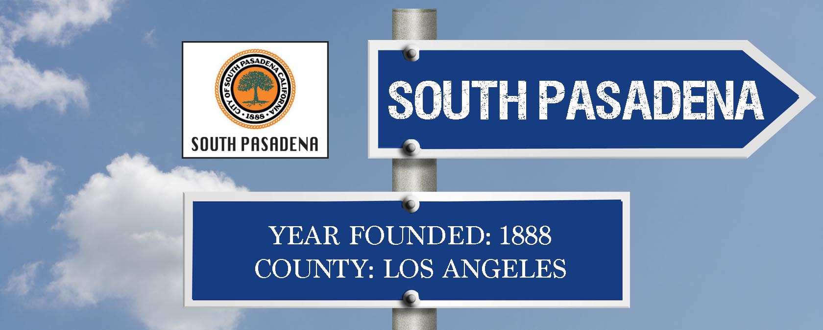 city sign-SOUTH PASADENA